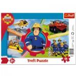 Trefl-31351 Frame Puzzle - Fireman Sam