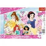 Trefl-31352 Frame Puzzle - Disney Princess