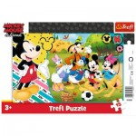 Trefl-31353 Frame Puzzle - Mickey Mouse & Friends