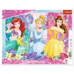 Trefl-31360 Frame Puzzle - Disney Princess