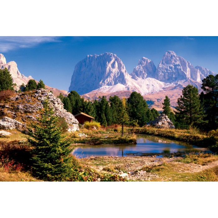 Jigsaw Puzzle - 3000 Pieces - The Dolomites