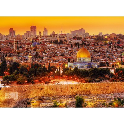 Trefl-33032 Jigsaw Puzzle - 3000 Pieces : Roof Tops of Jerusalem