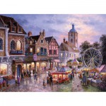 Trefl-33033 Jigsaw Puzzle - 3000 Pieces : Carnival