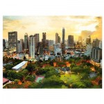 Puzzle  Trefl-33060 Sunset in Bangkok