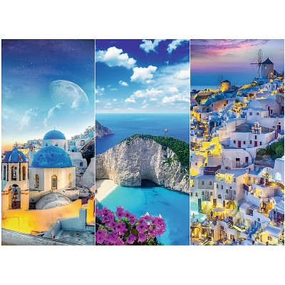 Puzzle Trefl-33073 Greek Holidays