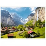 Puzzle  Trefl-33076 Lauterbrunnen, Switzerland