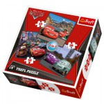 Trefl-34105 3 cars Puzzles