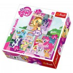 Trefl-34190 3 Jigsaw Puzzles - My Little Pony