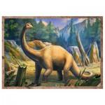 Trefl-34249 4 Jigsaw Puzzles - Dinosaurs