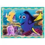 Trefl-34259 4 Jigsaw Puzzles - Nemo & Dory