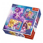 Trefl-34275 4 Jjigsaw Puzzles - Star Darlings