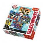 Trefl-34287 4 Puzzles - Transformers