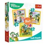 Trefl-34850 3 Puzzles - Treflikow