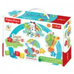 Trefl-36058 4 Jigsaw Puzzles - Baby Classic