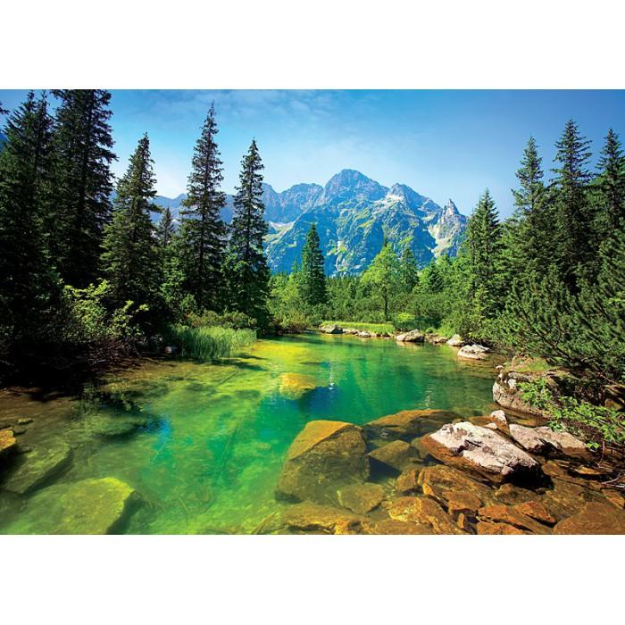 Jigsaw Puzzle - 500 Pieces - Tatras River, Poland