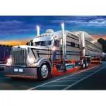 Trefl-37121 Jigsaw Puzzle - 500 Pieces - Sparkling Truck