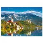 Puzzle  Trefl-37259 Bled, Slovenia
