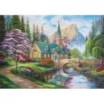 Puzzle  Trefl-37327 Woodland Seclusion