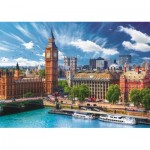 Puzzle  Trefl-37329 Sunny Day in London
