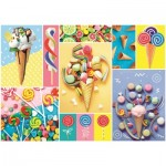 Puzzle  Trefl-37335 Favorite Sweets