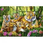 Puzzle  Trefl-37350 The Tiger Family