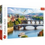 Puzzle  Trefl-37382 Prague