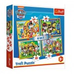 Puzzle   4 in 1 - Paw Patrol - Always on Time