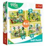 Puzzle   4 in 1 - Treflik's common fun