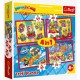 4 Jigsaw Puzzles - Super Things Secret Spies