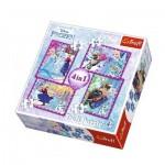 4 Puzzles - Frozen