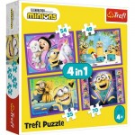 4 Puzzles - Minions - Universal Despicable Me 3