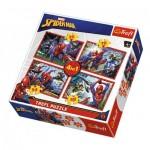 4 Puzzles - Spider-Man
