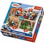 4 Puzzles - Thomas & Friends
