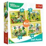 4 Puzzles - Treflikow