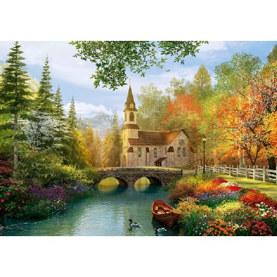 Puzzle Trefl-45000 Dominic Davison: Autumn Church