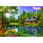 Puzzle  Trefl-45005 Afternoon idyll