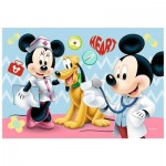 Trefl-54149-19552 Mini Jigsaw Puzzle - Mickey