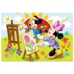 Trefl-54149-19554 Mini Jigsaw Puzzle - Mickey
