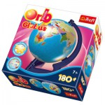 Trefl-60214 Globe Puzzle - World map in Polish