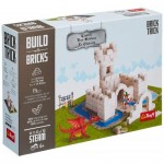 Puzzle  Trefl-60979 Build with Bricks - The Castle