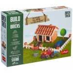 Puzzle  Trefl-60982 Build with Bricks - The Cottage