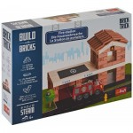 Puzzle  Trefl-60983 Build with Bricks - The Fire Station