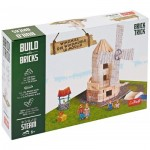 Puzzle  Trefl-60984 Build with Bricks - Windmill