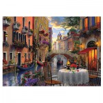 Puzzle  Trefl-65003 Romantic Venice