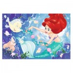 Trefl-75114 Disney Princess - Puzzle + Magic Marker