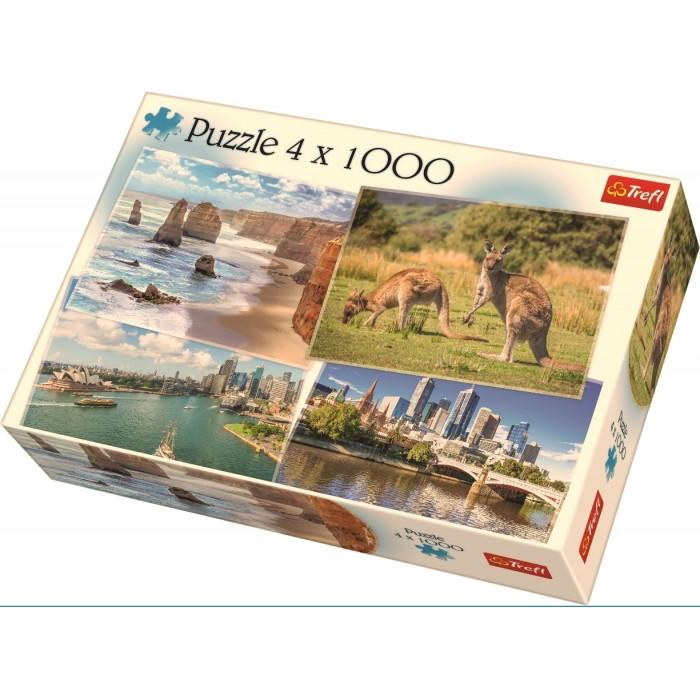 4 Puzzles - Oceania