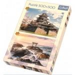 Trefl-90677 2 Puzzles - Japan