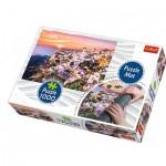 Trefl-90722 Puzzle Mat + Puzzle - Italy