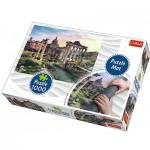 Trefl-90723 Puzzle Mat + Puzzle - Italy