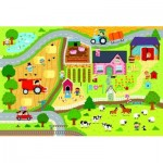 Trefl-90753 Floor Puzzle - The Farm